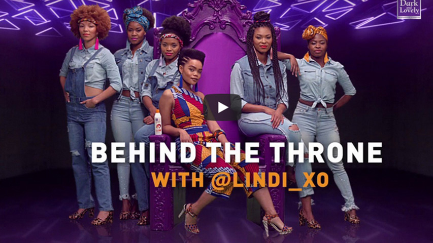 Behind the crown, Queendom Magazine, Lindi, Dark and Lovely