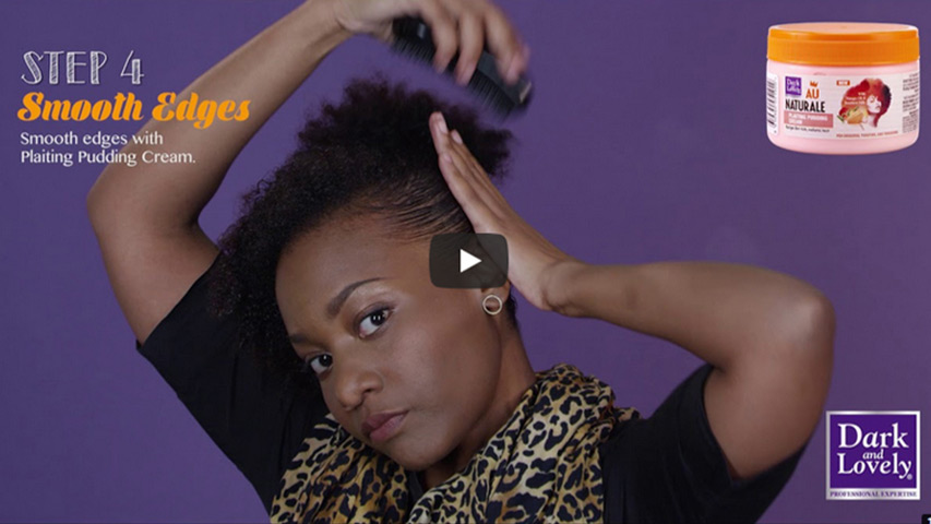 That's my style series – Funky updo by Kavuli from Good Hair Diaries