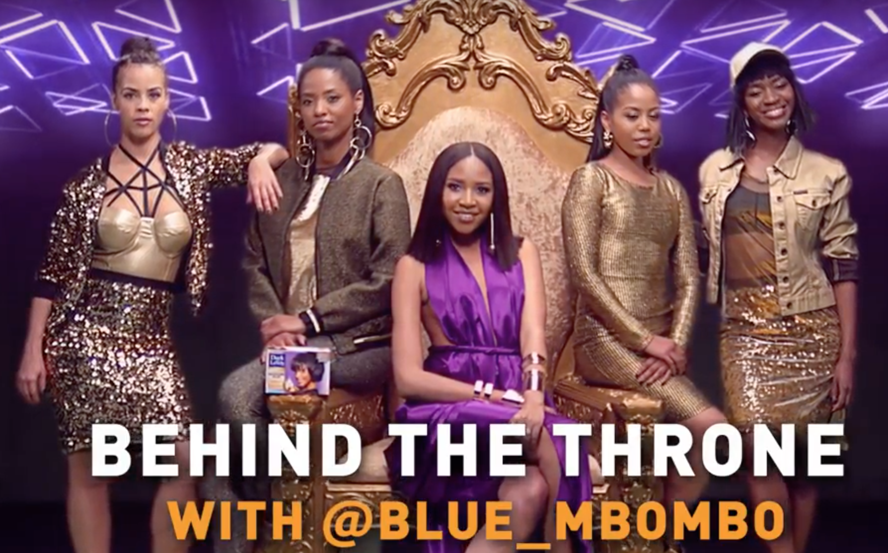 Blue Mbambo, Behind The Throne, Queendom Magazine, Dark and Lovely