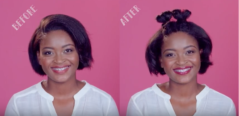 That's My Style – The Rocking Racer Updo by Nosipho Mhlanga